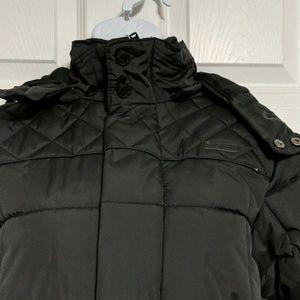 Ben Sherman Hooded Puffer Jacket Size 10/12